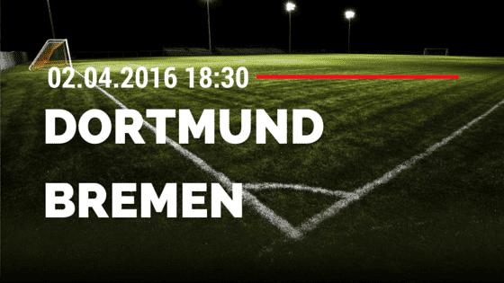 Borussia Dortmund vs SV Werder Bremen 02.04.2016 Tipp