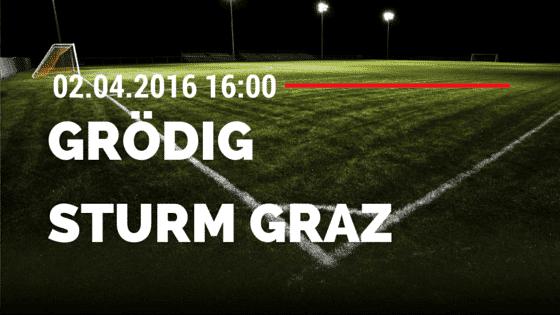 SV Grödig vs Sturm Graz 02.04.2016 Tipp