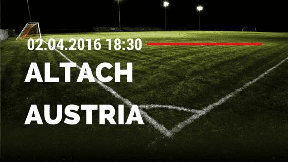 SCR Altach vs FK Austria Wien 02.04.2016 Tipp
