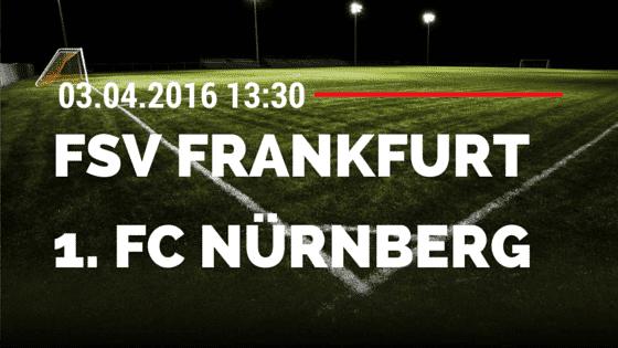 FSV Frankfurt vs 1. FC Nürnberg