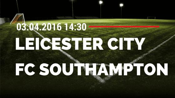 Leicester City vs Southampton 03.04.2016 Tipp
