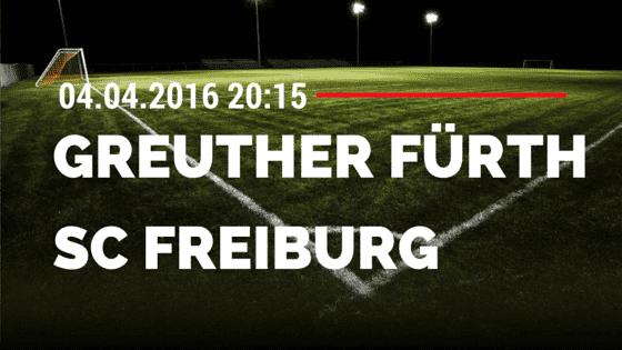 SpVgg Greuther Fürth vs SC Freiburg 04.04.2016 Tipp