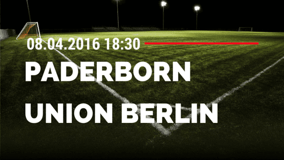SC Paderborn vs 1. FC Union Berlin 08.04.2016 Tipp