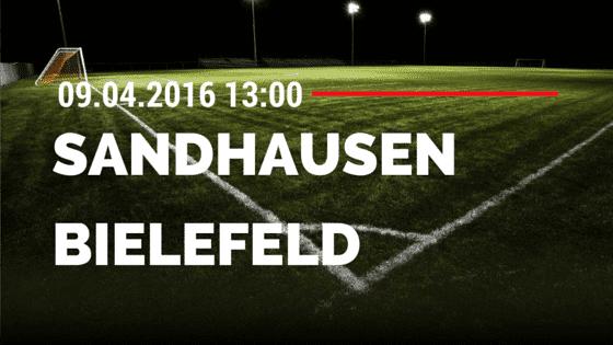 SV Sandhausen vs Arminia Bielefeld vs 09.04.2016 Tipp