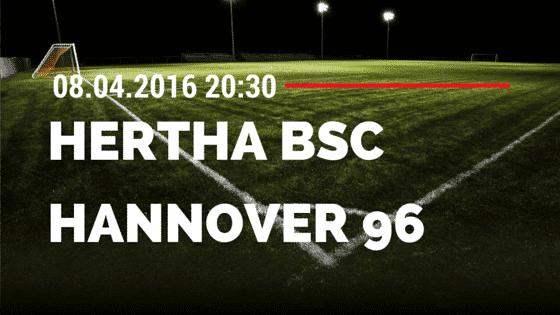 Hertha BSC Berlin vs Hannover 96 08.04.2016 Tipp