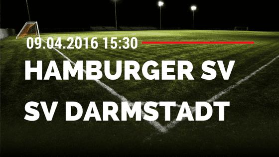 Hamburger SV vs SV Darmstadt 98 09.04.2016 Tipp