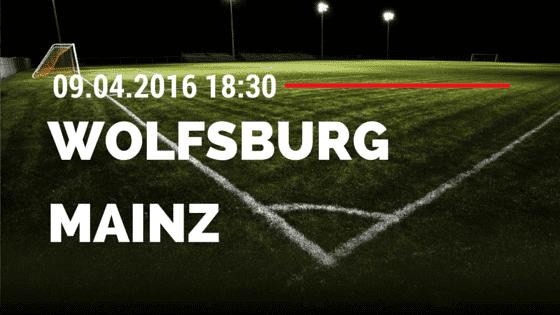 VfL Wolfsburg vs FSV Mainz 05 09.04.2016 Tipp