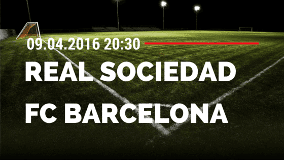 Real Sociedad San Sebastian vs FC Barcelona 09.04.2016 Tipp