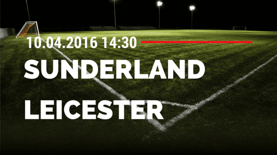 Sunderland vs Leicester City 10.04.2016 Tipp