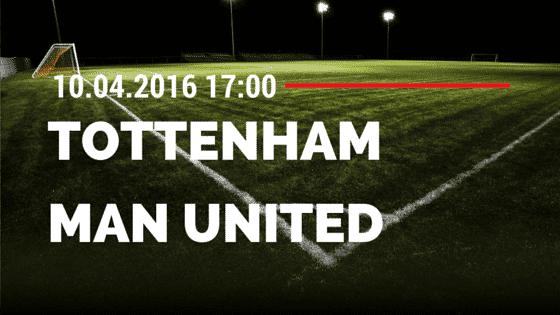 Tottenham Hotspur vs Manchester United 10.04.2016 Tipp
