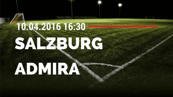 Red Bull Salzburg vs Admira Wacker Mödling 10.04.2016 Tipp