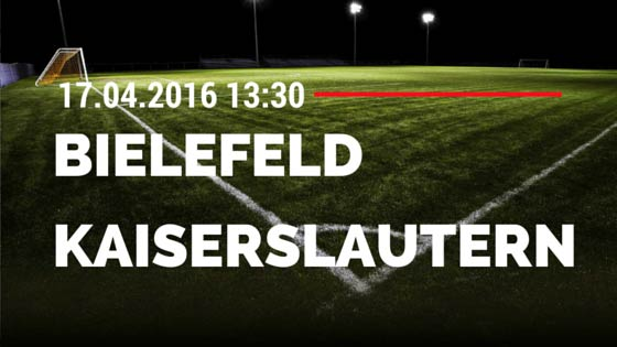 Arminia Bielefeld vs 1. FC Kaiserslautern 17.04.2016 Tipp