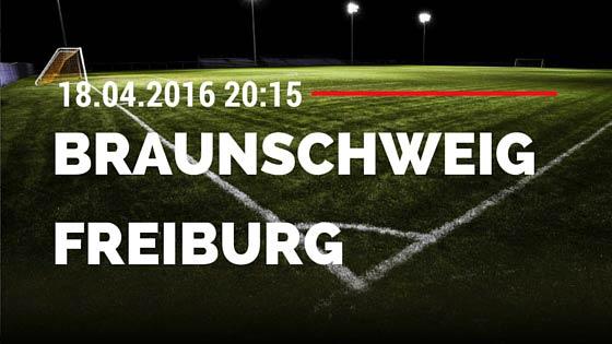 Eintracht Braunschweig vs SC Freiburg 18.04.2016 Tipp