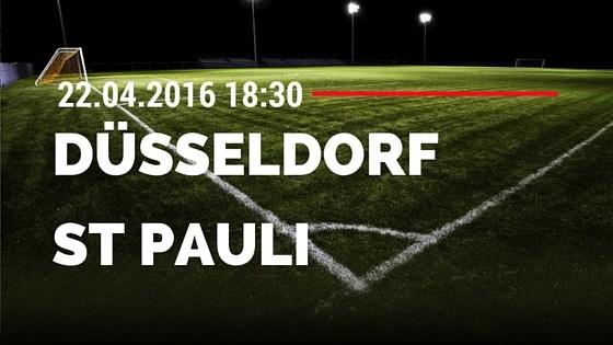 Fortuna Düsseldorf vs FC St. Pauli 22.04.2016 Tipp