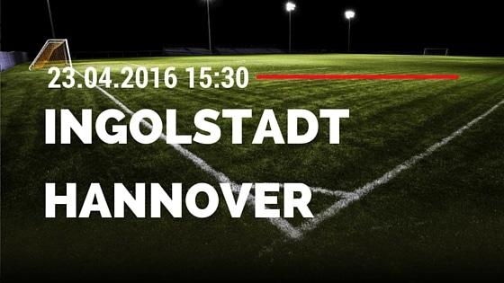 FC Ingolstadt 04 vs Hannover 96 23.04.2016 Tipp