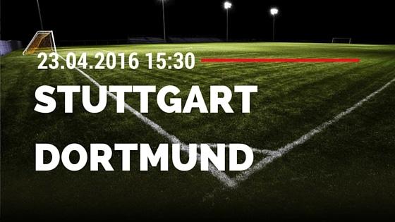 VfB Stuttgart vs Borussia Dortmund 23.04.2016 Tipp