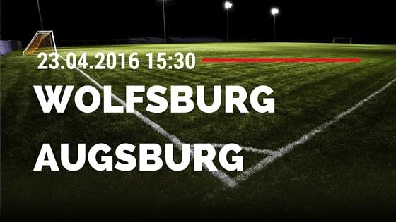 VfL Wolfsburg vs FC Augsburg 23.04.2016 Tipp