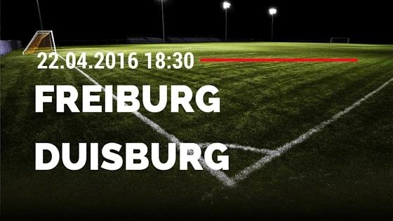 SC Freiburg vs MSV Duisburg 22.04.2016 Tipp