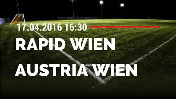 SK Rapid Wien vs FK Austria Wien 17.04.2016 Tipp