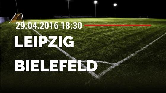 RB Leipzig vs Arminia Bielefeld 29.04.2016 Tipp