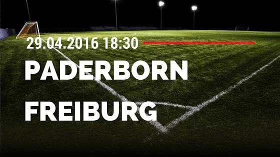 SC Paderborn vs SC Freiburg 29.04.2016 Tipp