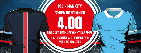 PSG City Ladbrokes Angeot