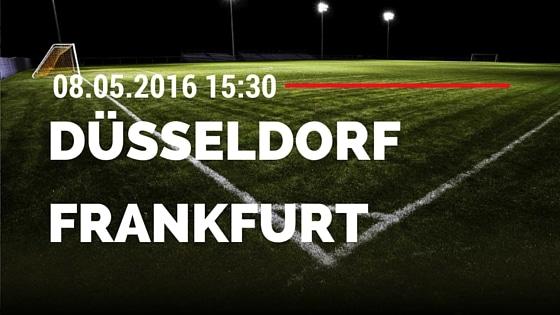 Fortuna Düsseldorf vs FSV Frankfurt 08.05.2016 Tipp