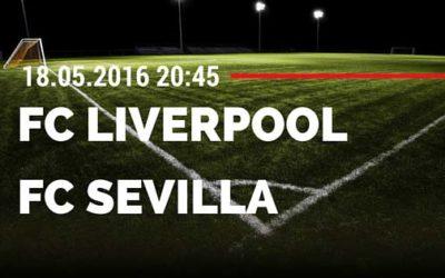 FC Liverpool vs FC Sevilla Europa League Finale 18.05.2016 Tipp