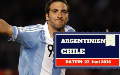 Argentinien vs Chile Copa America Finale 27.06.2016 Tipp