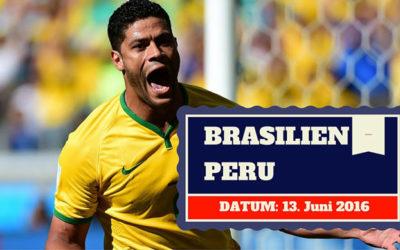 Brasilien vs Peru Copa America 13.06.2016 Tipp