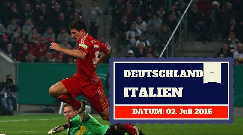 Em Tipp Deutschland Italien