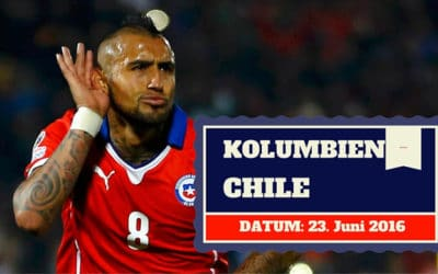 Kolumbien vs Chile Copa America 23.06.2016 Tipp