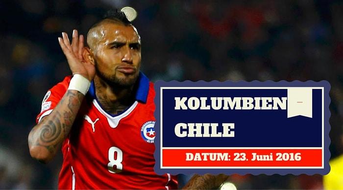 Kolumbien Chile Tipp