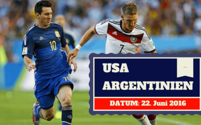 USA vs Argentinien Copa America 22.06.2016 Tipp