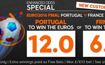 Eine 12,00 auf Portugal und eine 6,00 auf Frankreich? JA!