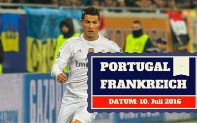 Portugal vs Frankreich 10.07.2016 EM Finale Tipp
