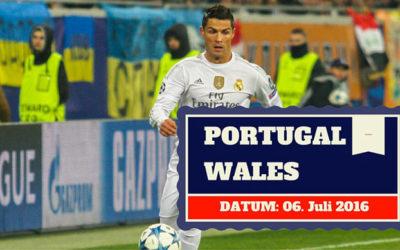 Portugal vs Wales 06.07.2016 Halbfinale Tipp