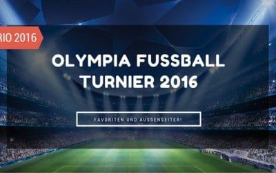 Rio 2016 Olympia Fußballturnier – Vorbericht