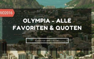 Olympia in Rio 2016 Favoriten und Quoten