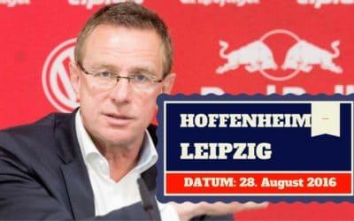 TSG Hoffenheim vs RB Leipzig 28.08.2016 Tipp