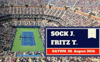 Jack Sock vs Taylor Fritz 29.08.2016 US Open Tipp