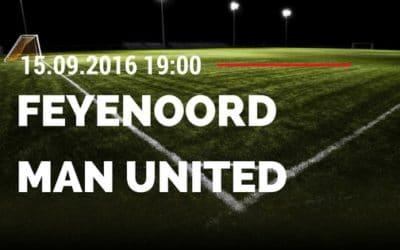 Feyenoord Rotterdam vs Manchester United 15.09.2016 Tipp