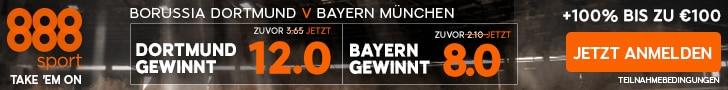 Dortmund bayen Spezialquote