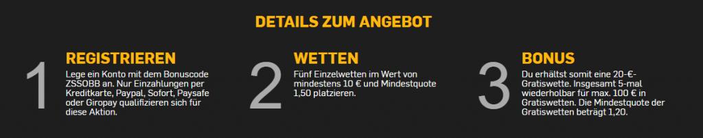 Betfair Wettsteuer