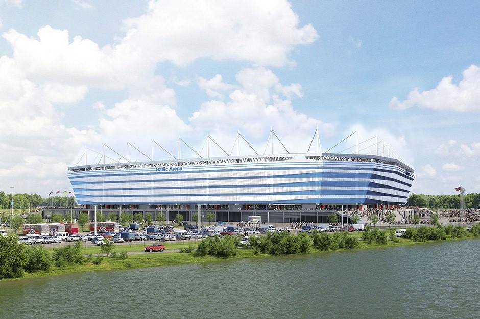 Kaliningrad Arena Baltika Stadion WM 2018 wettbonus.net