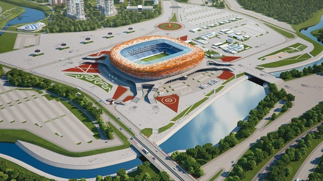 Saransk Mordowia Arena Stadion WM 2018 wettbonus.net