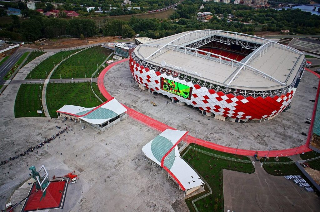Moskau Spartak Stadion WM 2018 wettbonus.net