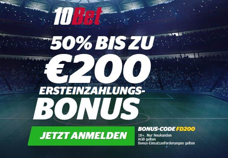 10Bet willkommensbonus wettbonus.net