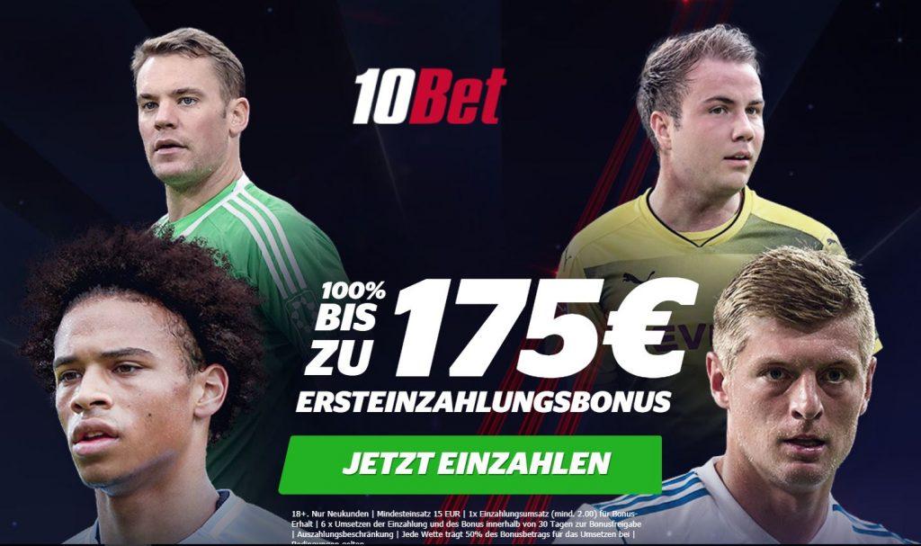 10Bet bonus wettbonus.net