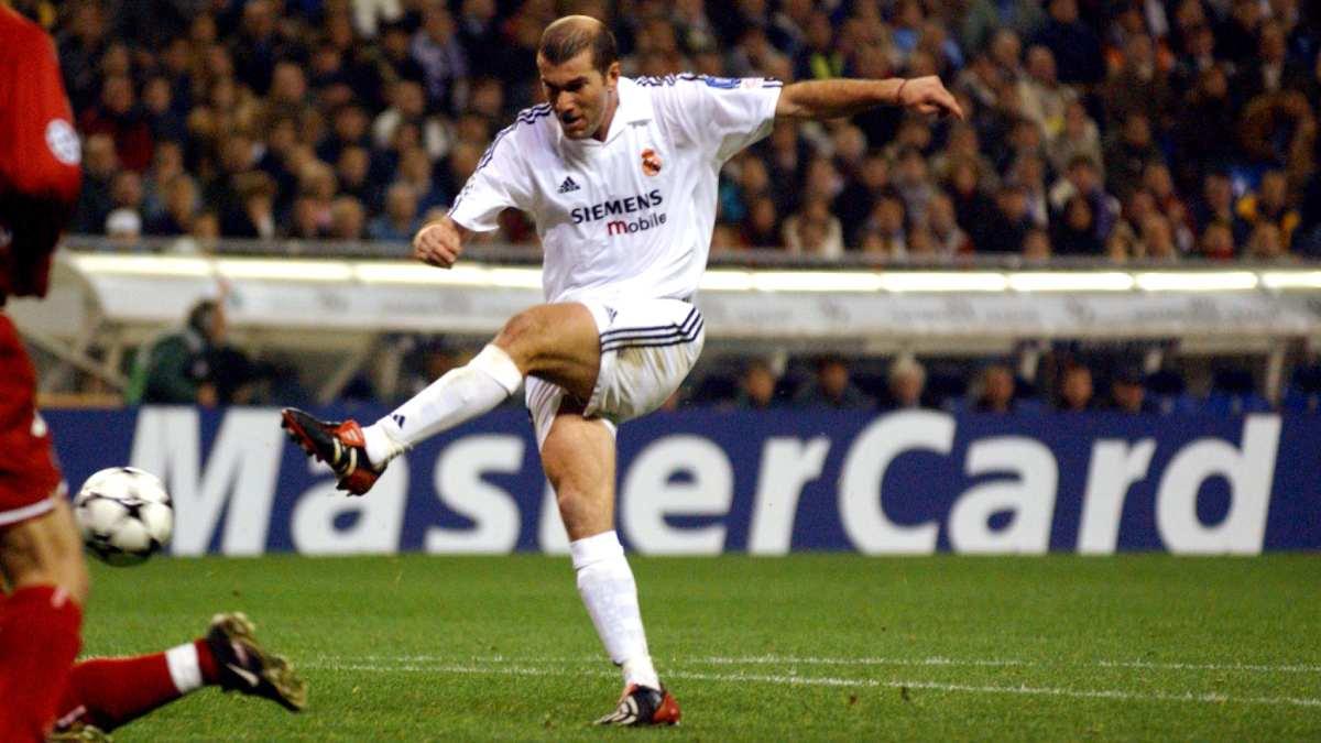 Die größten Fußballspieler aller Zeiten - Zinedine Zidane